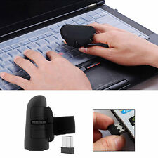 2.4GHz USB Wireless Finger Rings Optical Mouse 1600DPI For PC Laptop Desktop MP