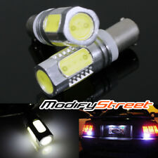 2PC WHITE BA9S/3886X/T4W/T11 HI-POWER 7.5W SMD LED LIGHT BULBS MAP/INTERIOR/DOOR