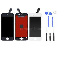 For iPhone 5S LCD Display Touch Screen Digitizer Replacement Assembly+Tools P9I7