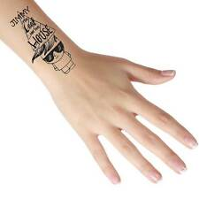 """Personalised Temporary Tattoos """"Too Cool for this House"""" Add Any Name/Text"""