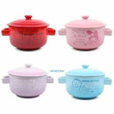SANRIO HELLO KITTY MY MELODY LITTLE TWIN STARS CEREMICS NOODLES/SOUP BOWLS