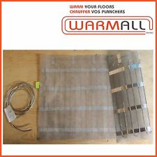 """Warm All Electric Floor Heating Mat 60"""" Wide - 240 Volts"""