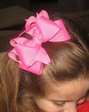 Girls Hair Bows Hair Bow Bundles Lot Sets of hairbows Boutique Bows set of 5