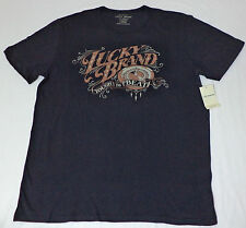 NWT Lucky Brand Short Sleeve Black Graphic T-Shirt     Large, XX-Large     L1919
