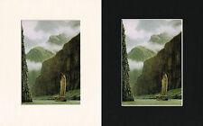In Windbox Gorge - Mark Myers Mounted Ship/Naval Print