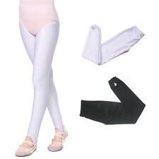 Solid Colors Girls Kids Tights Opaque Pantyhose Hosiery Ballet Dance Socks 3-12