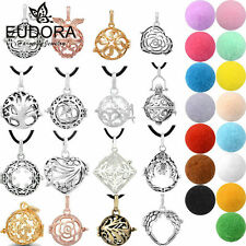 30L Perfume Fragrance Essential Oils Aromatherapy Diffuser Locket Necklace DIY