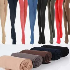 Solid Colors Stockings Hosiery Tights Velvet Women's Pantyhose Semi Opaque