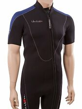 Henderson Thermoprene Mens Big & Tall 3mm Front Zip Shorty Wetsuit Mens 4XL...