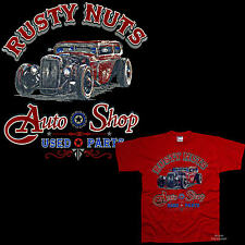 Rockabilly Hotrod T-Shirt Classic Car Kustom V8 Car Vintage Car Workshop 1177