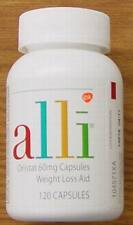 ALLI ORLISTAT 60MG WEIGHT LOSS AID REFILL PACK 120 CAPSULES NEW SEALED