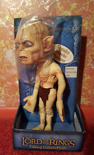 JRR Tolkien NEW Gollum Smeagol Talking Plush Figure Lord of the Rings Hobbit