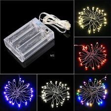 2M 20 LED String Light Battery Operated Wedding Party Christmas Light