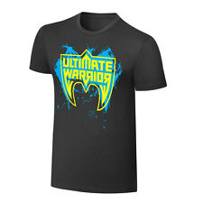 WWE OFFICIAL ULTIMATE WARRIOR PARTS UNKNOWN GRAY LIMITED EDITION T-SHIRT NWT