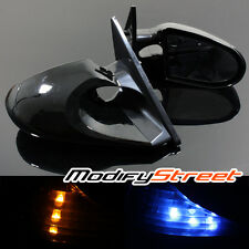 03-05 COROLLA K6 SIDE WING SPORT MIRROR SMOKED LED BLUE/YELLOW SIGNAL LEFT/RIGHT