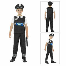 Smiffys Kids Cop Fancy Dress Costume Childs World Book Day Police Officer Outfit