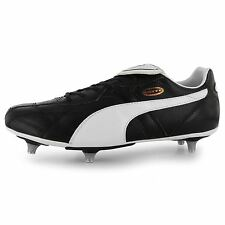 Puma Esito Classic SG Soft Ground Football Boots Mens Black/White Soccer Cleats