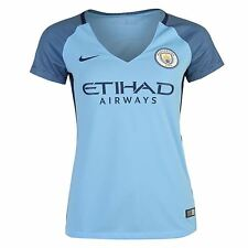 Nike Manchester City FC Home Jersey 2016 2017 Womens Blue/Navy Football Soccer
