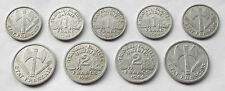 VICHY FRANCE Coins * World War II * 1942-1944 * Choice of Years and Mints