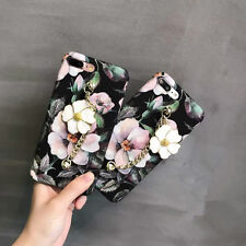 Ultra Thin Flower Pattern Soft Silicone Rubber Case Cover For iPhone 6 6s 7 Plus