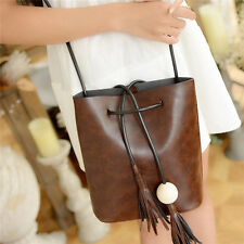 Fashion Women PU Leather Messenger Hobo Handbag Shoulder Bag Lady Tote Purse NEW