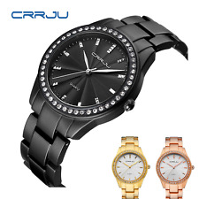 Women Luxury WristWatch Lady Crystal Rhinestone Dressy Watch Analog Quartz Watch