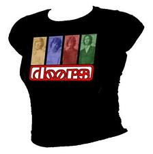 THE DOORS - Jim Morrison retro 1960's music icons ladies T-shirt all sizes