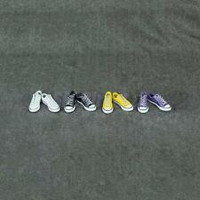 """1/6 Canvas Sneaker Casual Shoes Flats fit 12"""" BBI Dragon Action Figure Body"""