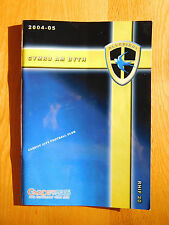 Cardiff City Home Programmes 2004/05