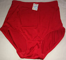 2 SEAMLESS SHAPER BRIEFS Red Waist Girdle Firm Control Panties 2X 3X 4X 5X