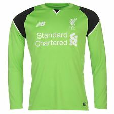 New Balance Liverpool FC Home Goalkeeper Jersey 2016 2017 Mens Football Soccer