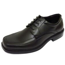 MENS BLACK LACE-UP WORK WEDDING SMART CASUAL LOAFERS FORMAL SHOES SIZES 5-14