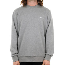 X Carhartt Scpt Embroidery Sweat - Grey Heather