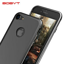 BOBYT For iPhone 7 & 7 Plus Aluminium Metal Bumper Frame With PC Back Case Cover