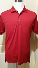 ADIDAS Mens Dri Wick Climalite GOLF Polo Sport Shirt Red Size Small & Medium NWT