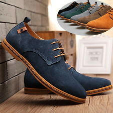 2016 Suede European style leather Shoes Men's oxfords Casual Multi Size Autumn