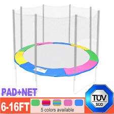 Replacement Trampoline Safety Net Spring Cover Padding Pad 6 8 10 12 13 14 16 FT