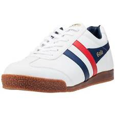 Gola Harrier Classic Unisex Trainers White New Shoes