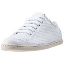Camper Uno Perforated Womens Trainers White New Shoes
