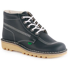 Kickers Kick Hi Mens Ankle Boots Navy New Shoes