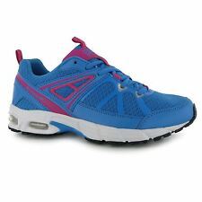 Everlast Run Running Shoes Womens Blue/Pink Trainers Sneakers Sports Shoe