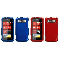 For HTC Trophy T8686 Rigid Plastic Hard Snap-On Case Phone Cover