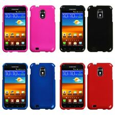For Samsung Epic Touch 4G D710 Rigid Plastic Hard Snap-On Case Phone Cover