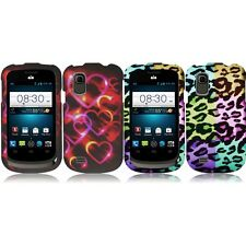 For ZTE Avail 2 Z992 Snap-On Design Rubberized Hard Phone Case Cover