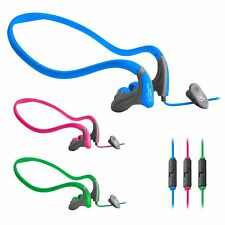 Urbanz Running Headphones Sport Neckband Earphones for iPhone iPod HTC Samsung