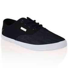 MENS VOI JEANS FIERY NAVY CANVAS DENIM PUMPS PLIMSOLL TRAINERS SHOES SIZE 6 UK