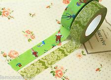 Classiky Cartoon Washi tapes C Race & Mr Fashionable planner deco masking tapes
