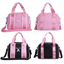 Girls Ballet Duffle Bag Girl Gymnastics Shoulder Dance Bag Training Tote Handbag