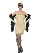 Smiffys Flapper style fancy dress costume 1920's Charleston Great Gatsby Fringe