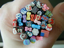 50 slices Nail Fimo Polymer Decoration Art Hello Kitty Mickey Minnie Kerroppi